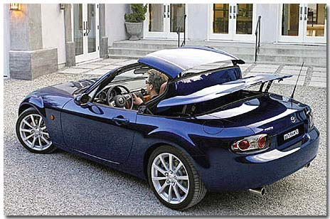 motormobiles mazda mx 5 mit metalldach 2006. Black Bedroom Furniture Sets. Home Design Ideas
