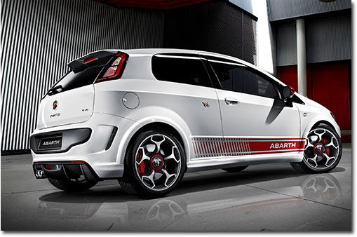 Motormobiles fiat abarth punto evo for Modelli 500 abarth