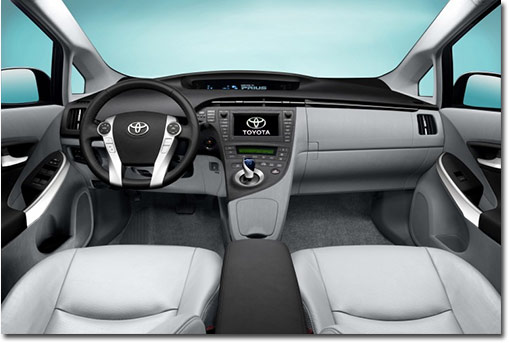 motormobiles head up display beim toyota prius. Black Bedroom Furniture Sets. Home Design Ideas