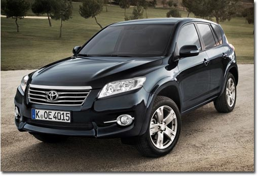 motormobiles facelift f r den toyota rav4. Black Bedroom Furniture Sets. Home Design Ideas