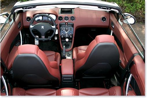 motormobiles erstkontakt 2012 peugeot 308 cc allure 200 thp. Black Bedroom Furniture Sets. Home Design Ideas