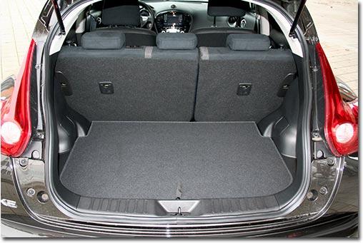 motormobiles nissan juke 4x4 1 6 dig turbo im test. Black Bedroom Furniture Sets. Home Design Ideas