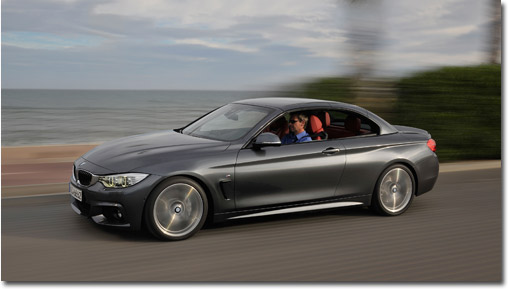 motormobiles l a auto show bmw 4er cabriolet ab. Black Bedroom Furniture Sets. Home Design Ideas