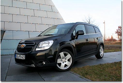 Motormobiles Chevrolet Orlando 14 Turbo Ltz Im Test
