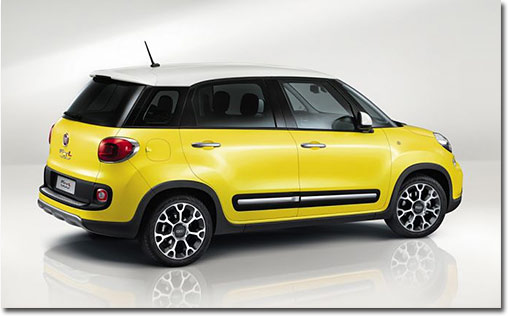 motormobiles fiat 500l trekking premiere in genf. Black Bedroom Furniture Sets. Home Design Ideas
