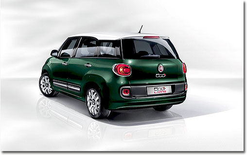 motormobiles der fiat 500l living. Black Bedroom Furniture Sets. Home Design Ideas