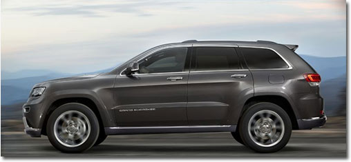 motormobiles der neue jeep grand cherokee startet in. Black Bedroom Furniture Sets. Home Design Ideas