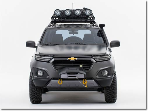 Motormobiles Chevrolet Niva Concept Auf Der Moskau Auto Show 2014