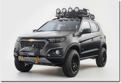 motormobiles chevrolet niva concept auf der moskau auto. Black Bedroom Furniture Sets. Home Design Ideas