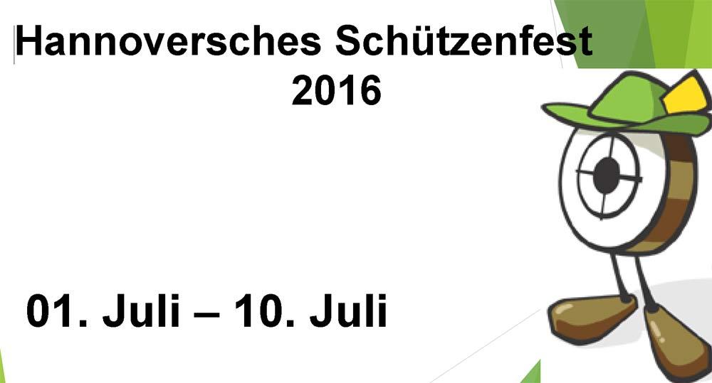 487. Schützenfest in Hannover vom 01. bis zum 10. Juli 2016
