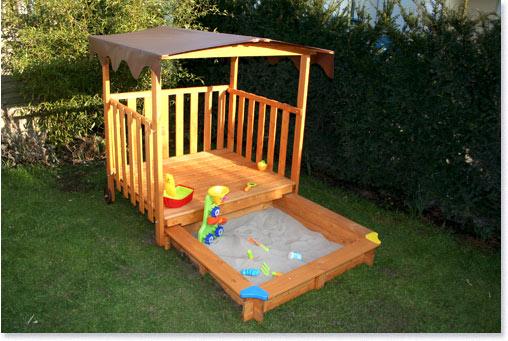 sandkasten mit spielhaus sandkasten mit spielhaus von. Black Bedroom Furniture Sets. Home Design Ideas