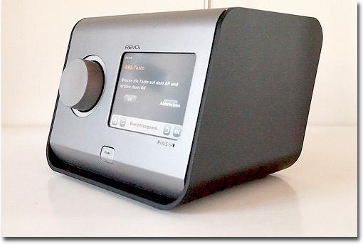 Multitalent Im Test: Das Kompakte Pixis RS Von Revo Behrrscht DAB Und DAB+  Sowie Internetradio Und Streaming Per Wlan