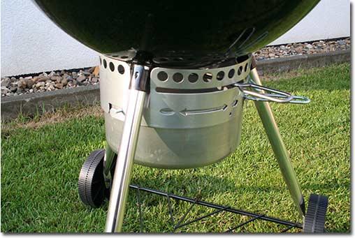 braten grillen mit weber grill
